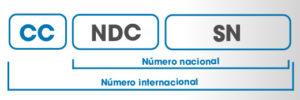 formato Numeración Internacional