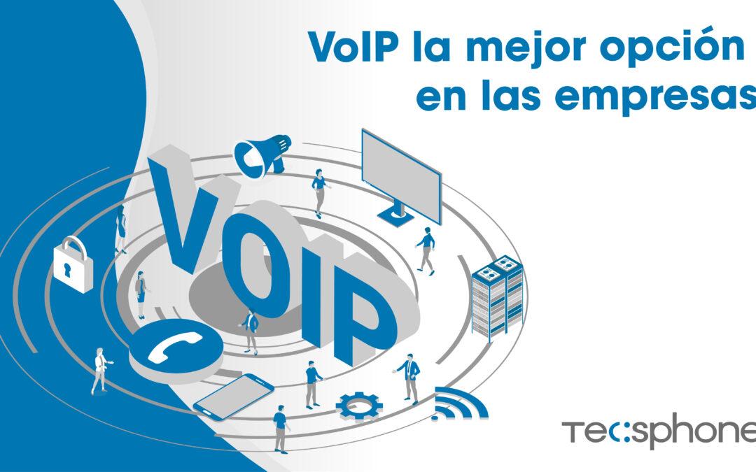 Tecnología VoIP para empresas