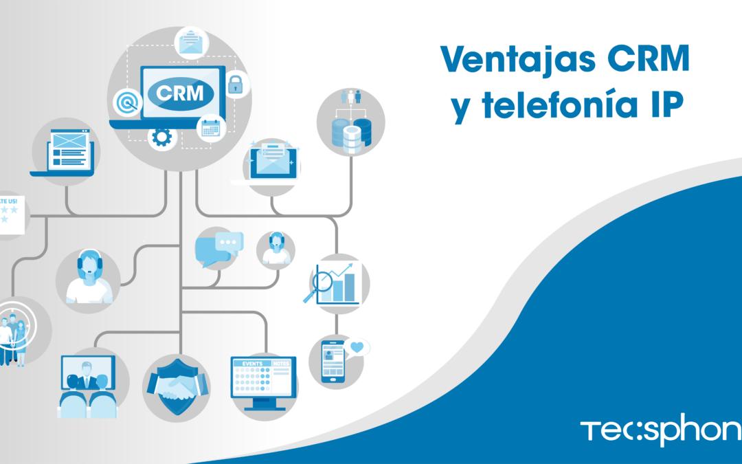 Ventajas de integrar CRM y telefonía IP